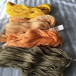 mushroom dye yarn.jpeg
