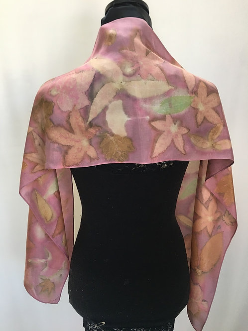 Silk Scarf H11-294 Cochineal