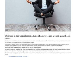 Business Matters Magazine - How well is your workplace?