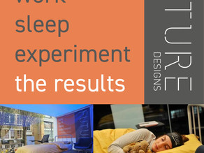 FUTURE Designs - Light Work Sleep Experiment