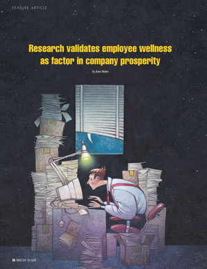 Research validates employee wellness as factor in company prosperity