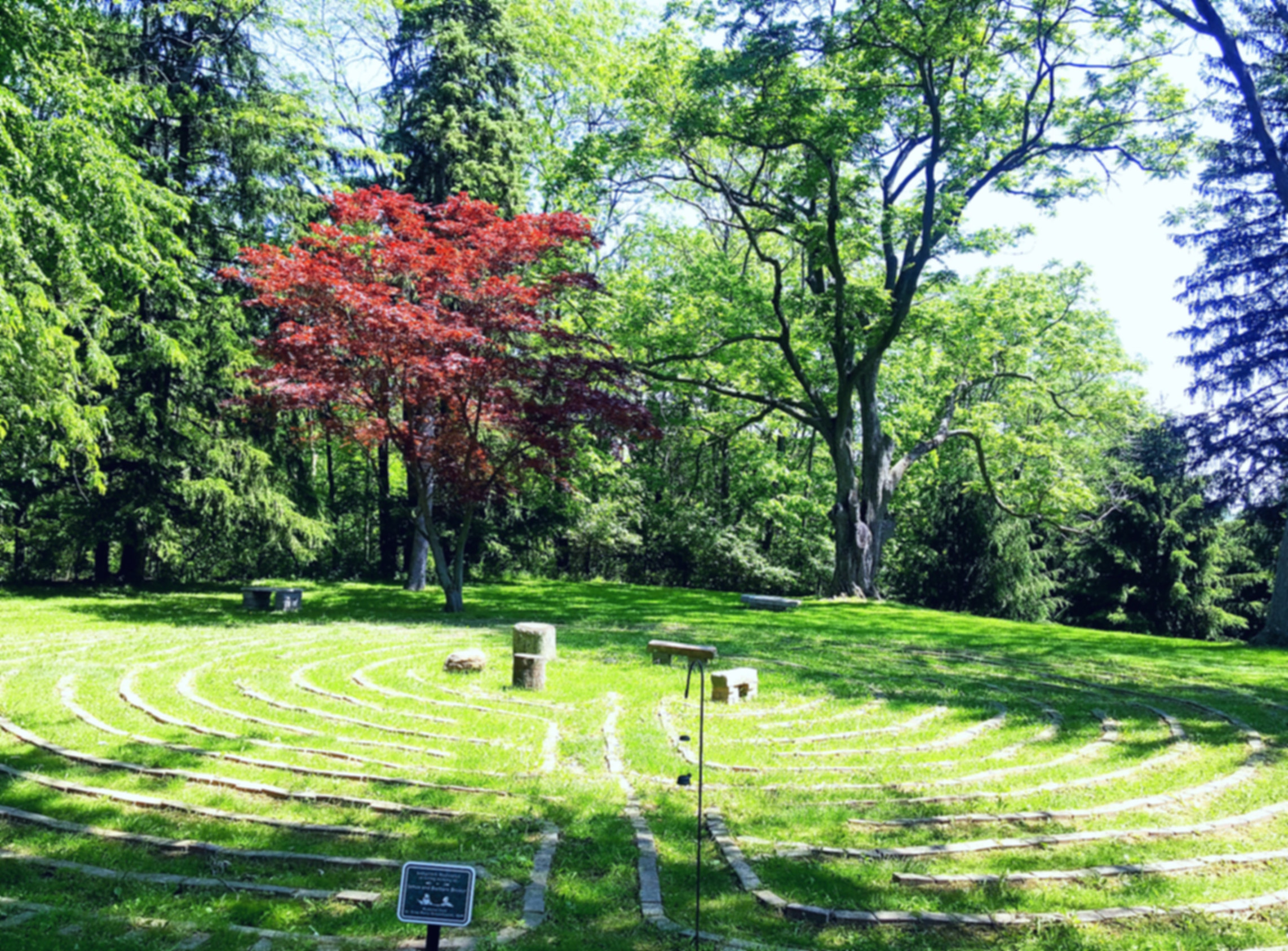 Our Lady of the Pines Retreat Center Labyrinth