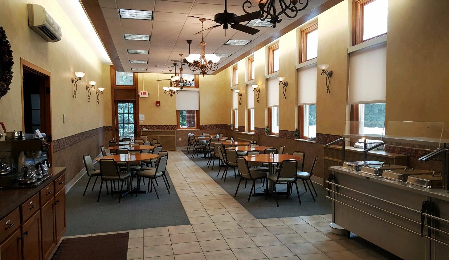 Retreat Center: Main Dining Area