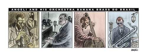 Banana Brass do Brasil, 2002 - série Jazz