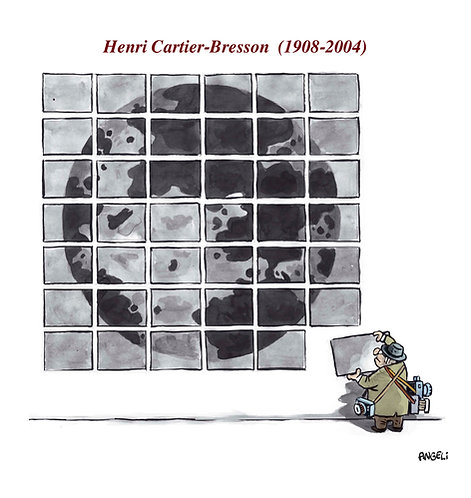 Henri Cartier Bresson, 2004