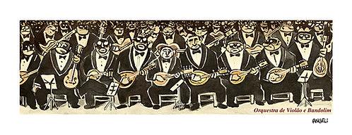 Orquestra de violão e bandolim, 2004 - série Jazz