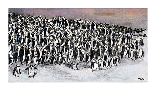 Sem título, 2011 - série Mondo Pinguino