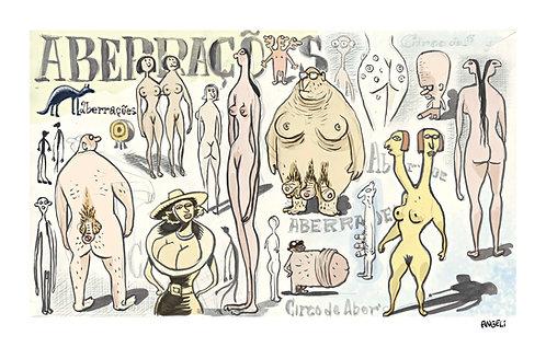 Aberrações, 2004 - série Caderno de esboços