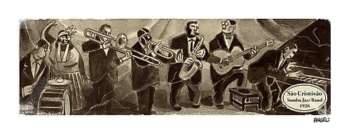 São Cristóvão Samba Jazz, 2005 - série Jazz