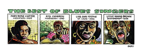 Blues singers, 1997 - série Jazz