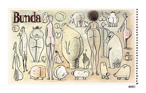 Bunda, 2005 - série Caderno de esboços