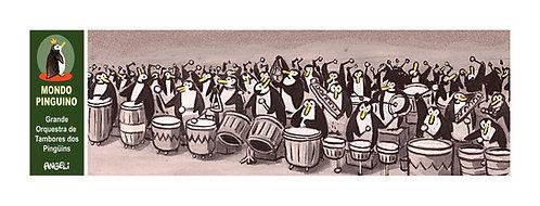 Grande Orquestra de Tambores dos Pinguins, 2004 - série Mondo Pinguino