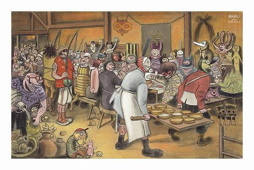 A Ceia de Casamento - Pieter Bruegel, 1568 | Angeli, 2008