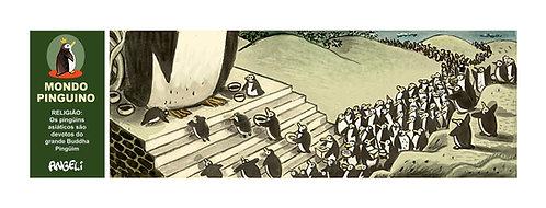 Buddha, 2004, série Mondo Pinguino