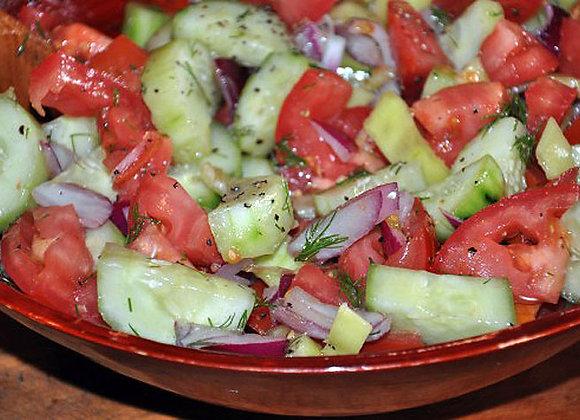 Cucumber & Tomato