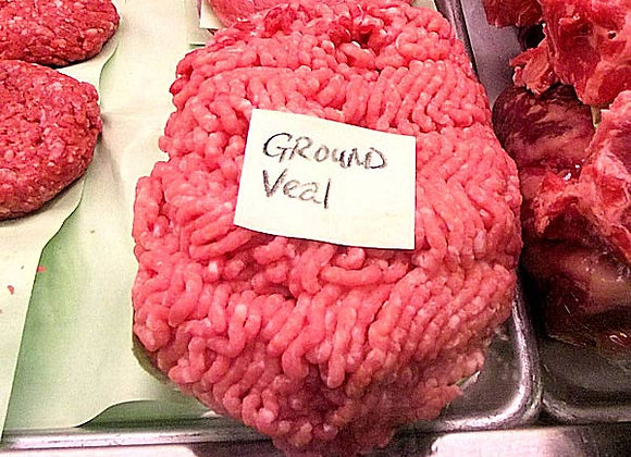 Fresh Ground Veal (upon request)