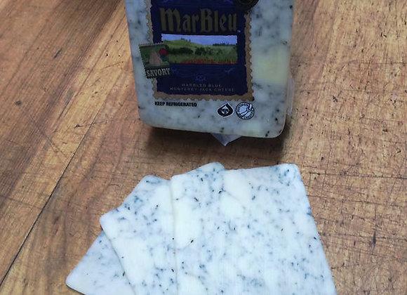 Marbled Blue Monterey Jack