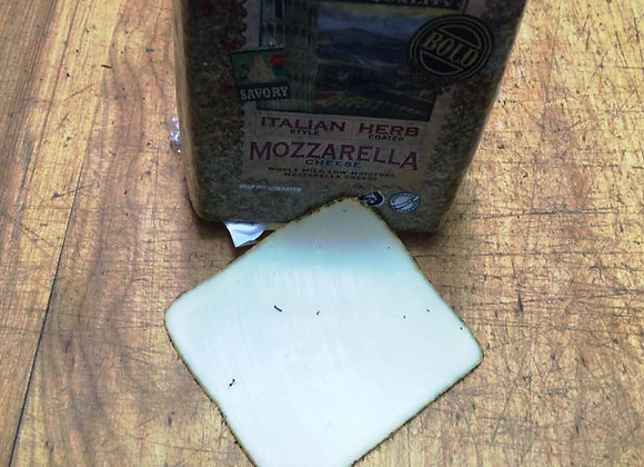 Mozzarella Herb Crusted