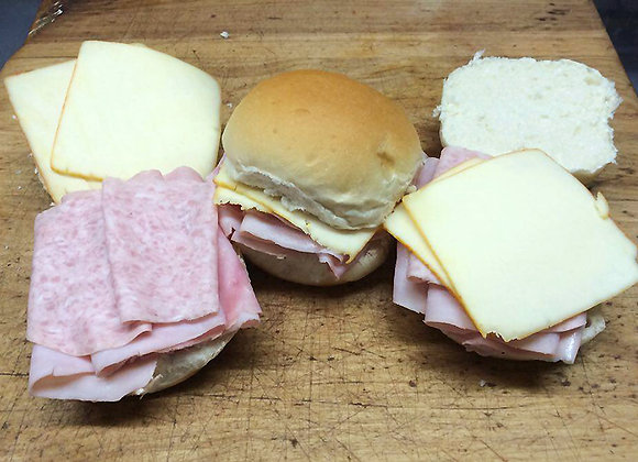 Ham & Cheese Sandwiches