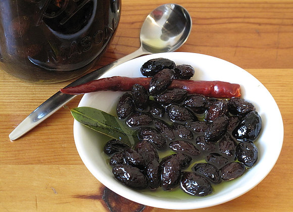 Dried Sicilian Olives