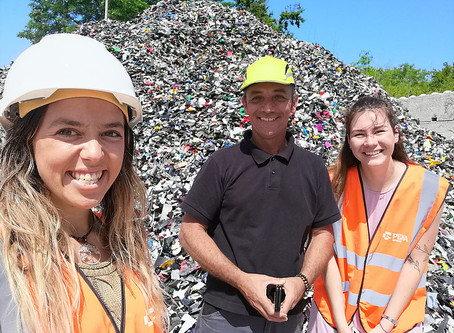 An immersion in an innovative recycling company