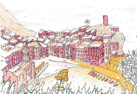 Notebook Collection - Cinque Terre [14] Vernazza