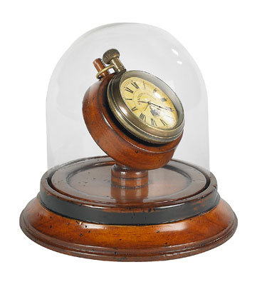 """Orologio con supporto e cupola """"Victorian"""""""