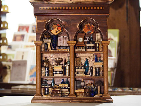 """Mini libreria """"Bifora"""" piccola"""