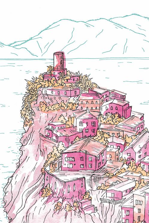 Notebook Collection - Cinque Terre [13] Vernazza