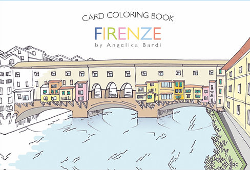 Card Coloring Book FIRENZE