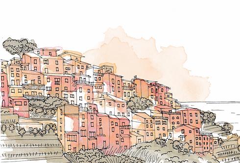 Notebook Collection - Cinque Terre [12] Corniglia