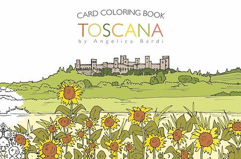 Card Coloring Book TOSCANA