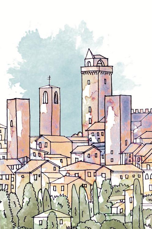 Notebook Collection - San Gimignano [21]