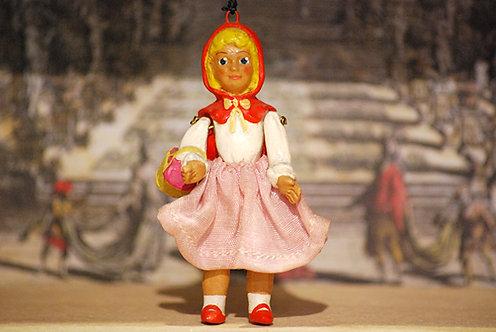 Cappuccetto Rosso, marionetta piccola