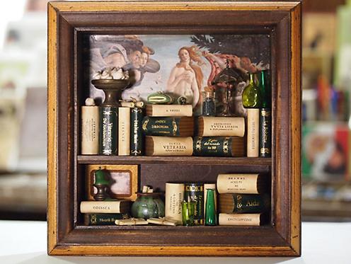 """Mini libreria """"Cubo"""""""