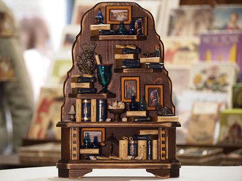 Mini libreria 'Veneta' a mobiletto