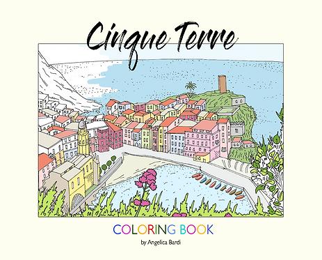 Coloring Book CINQUE TERRE