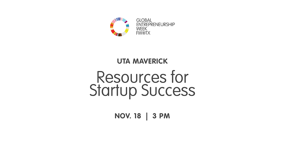 UTA Maverick Resources for Startup Success