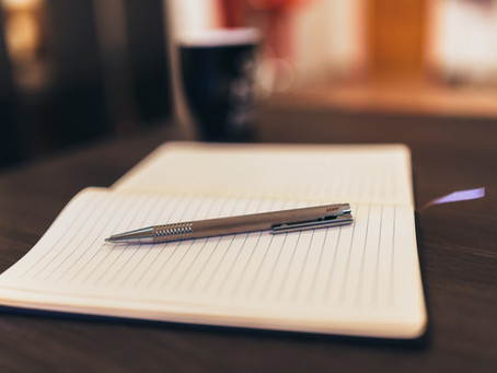 Journaling to improve wellbeing