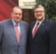 Governor Mike Huckabee at All American Day 2017.jpg I'm grateful for our friendship.jpg He's a class