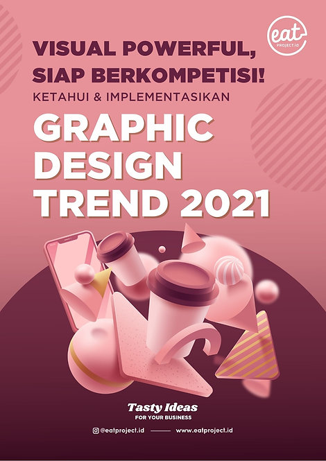E-Book Graphic Design Trend 2021