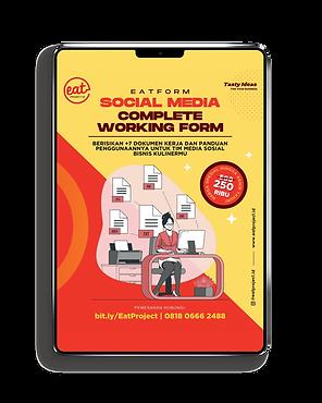 dokumen kerja tim social media