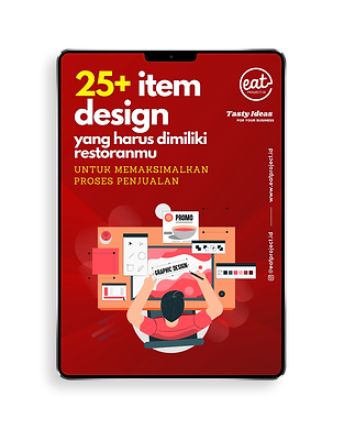 list desain promo untuk restoran