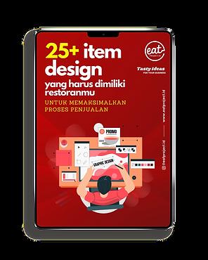 e-book item desain untuk restoran