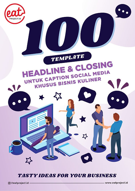E-Book 100 Template Headline & Closing