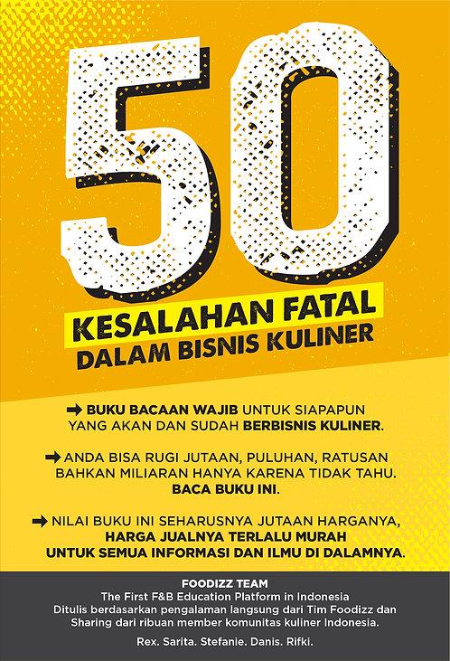 50 Kesalahan Fatal Dalam Bisnis Kuliner