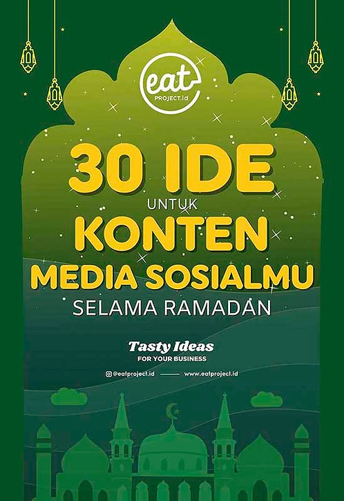 E-Book 30 Ide Untuk Konten Sosial Mediamu Selama Ramadan