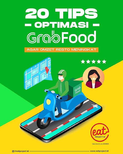 E-Book 20 Tips Optimasi Grabfood Agar Omzet Resto Meningkat