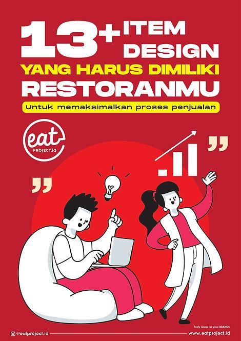 E-Book 13 Item Design untuk Restoranmu