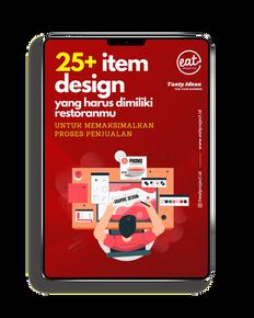 ebook item design untuk restoran